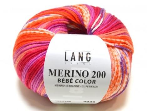 LANG YARNS - LANG YARNS Merino 200 bébé